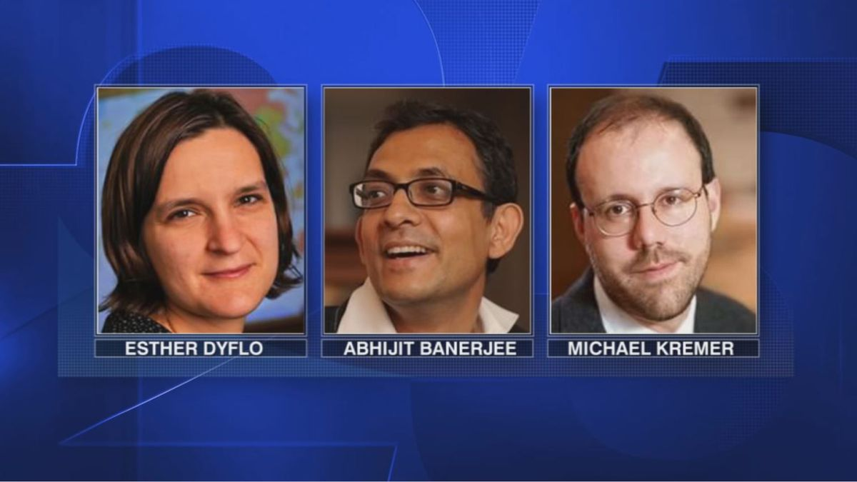 Trio of researchers from MIT and Harvard awarded Nobel Prize for studies on poverty