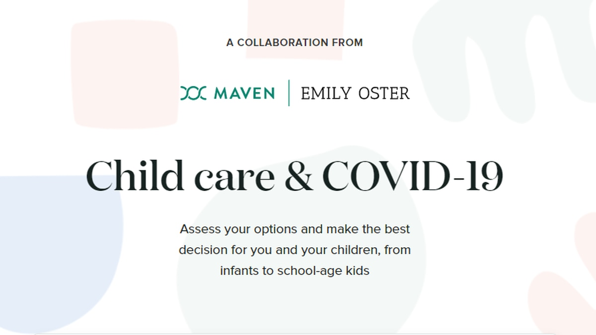 Child care and COVID quiz from Maven