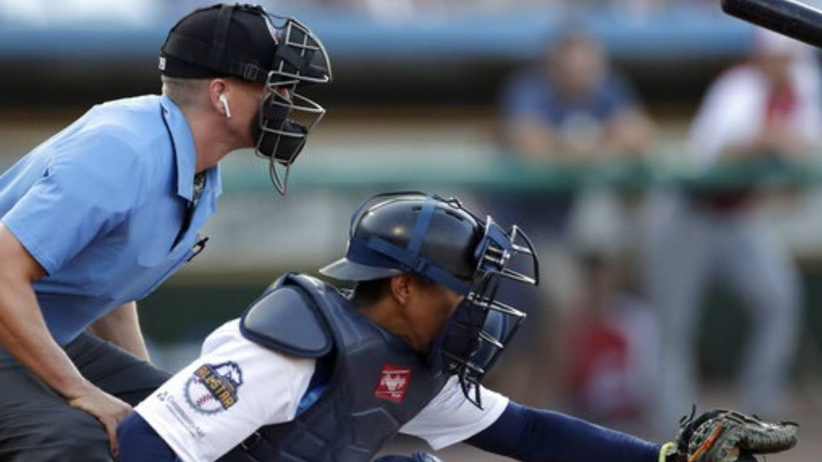 Robot umpires make debut in minor league All-Star Game