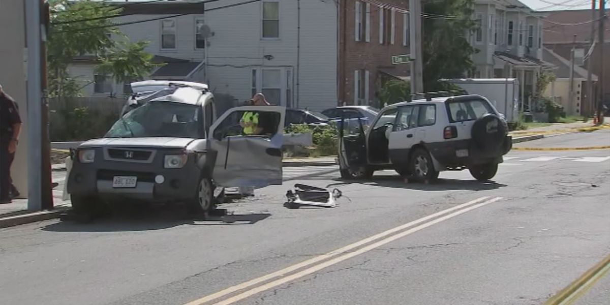50-year-old man dies from injuries sustained in two-car crash in Waltham