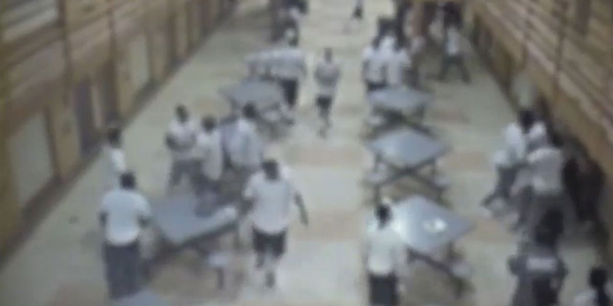 Surveillance video shows assault that injured 3 correctional officers at Souza-Baranowski