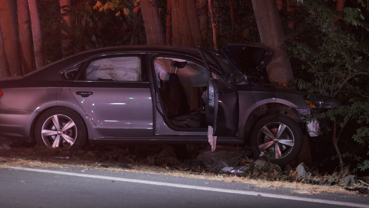 Police say teen seriously hurt after car crashes into tree is 'doing much better'