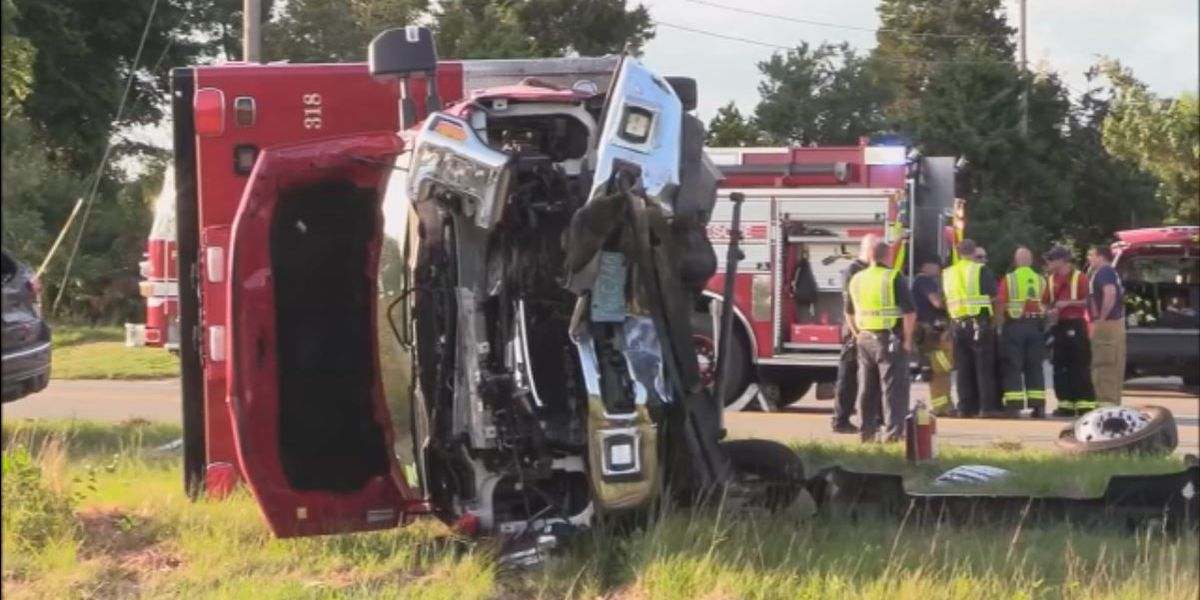 Four people injured in ambulance-involved crash in Falmouth