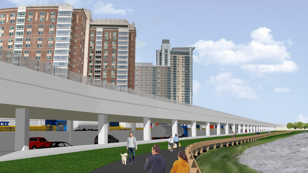 MassDOT plan would put Soldiers Field Rd. on top of new Mass Pike in Allston