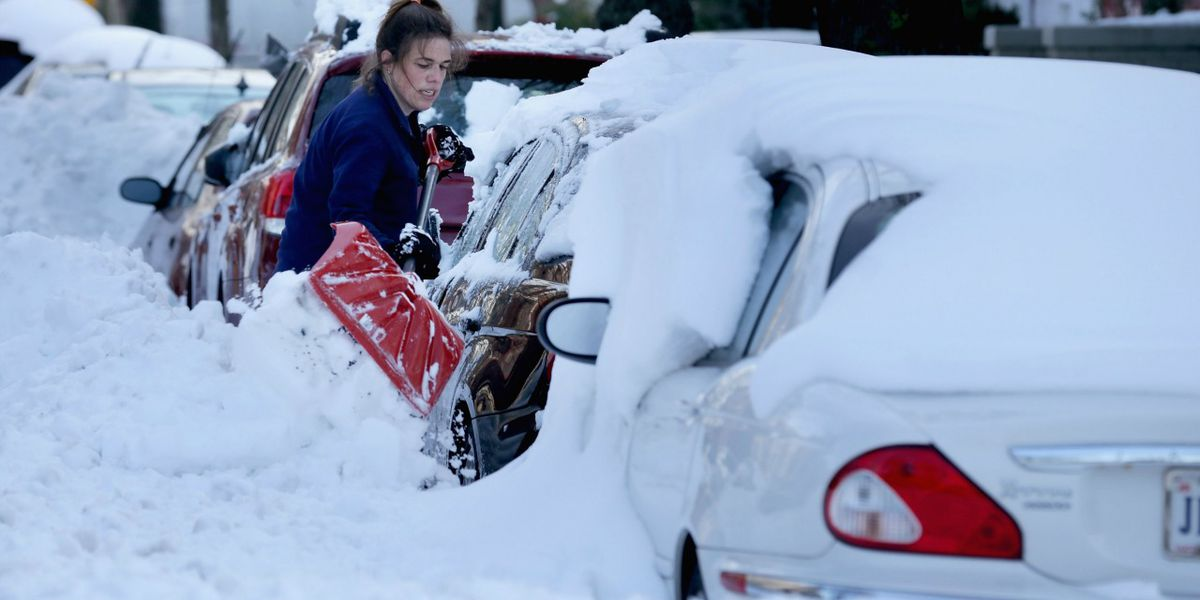 Avoid shoveling out your car thanks to new app