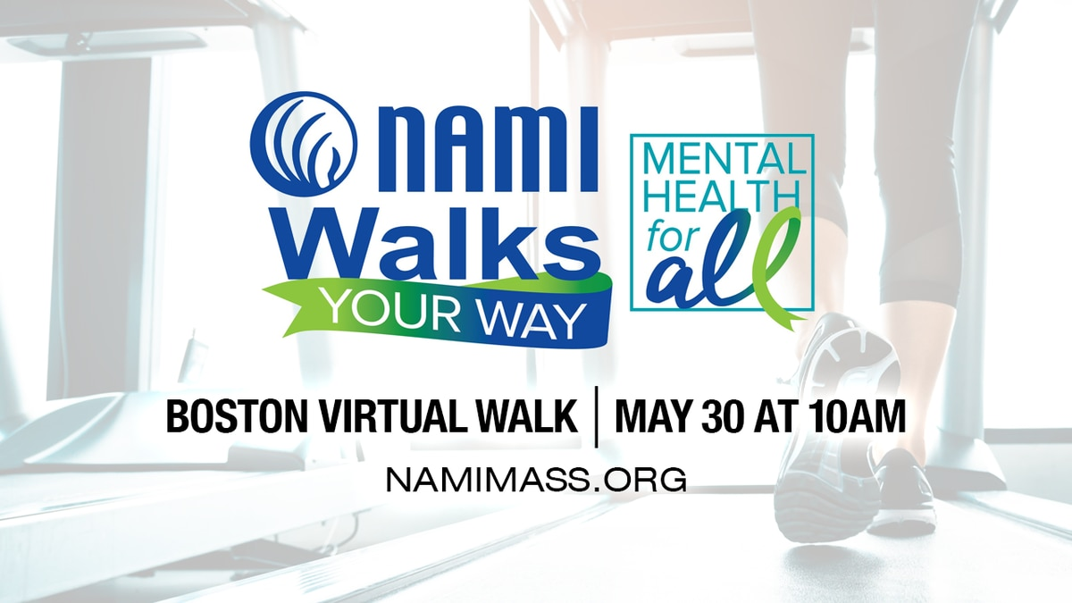 NAMI Walks Your Way virtual event