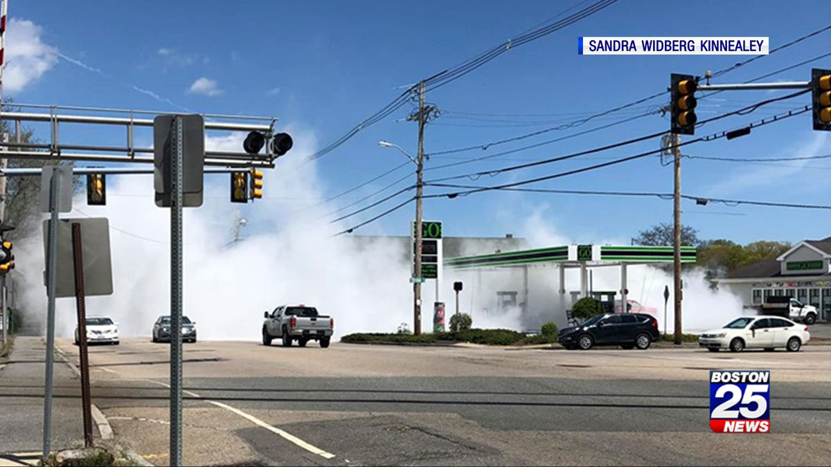 Fire suppression malfunction creates a mess in Bridgewater