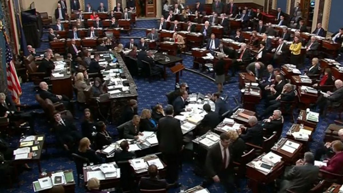 Senate blocks bid for new impeachment evidence and witnesses