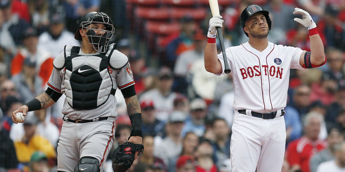 Red Sox lose Patriots' Day game to Orioles 8-1