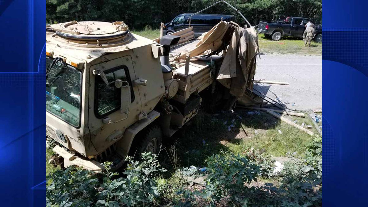 Vehicle defect blamed for rollover at Camp Edwards that injured 3 soldiers