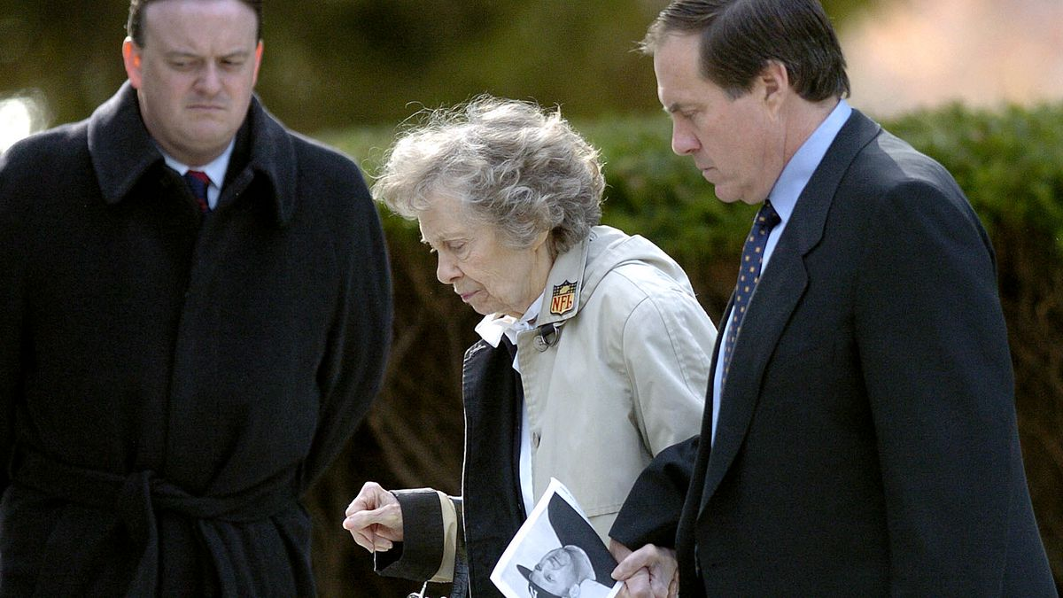 Jeannette Belichick, mother of Patriots' coach Bill Belichick, dies at 98