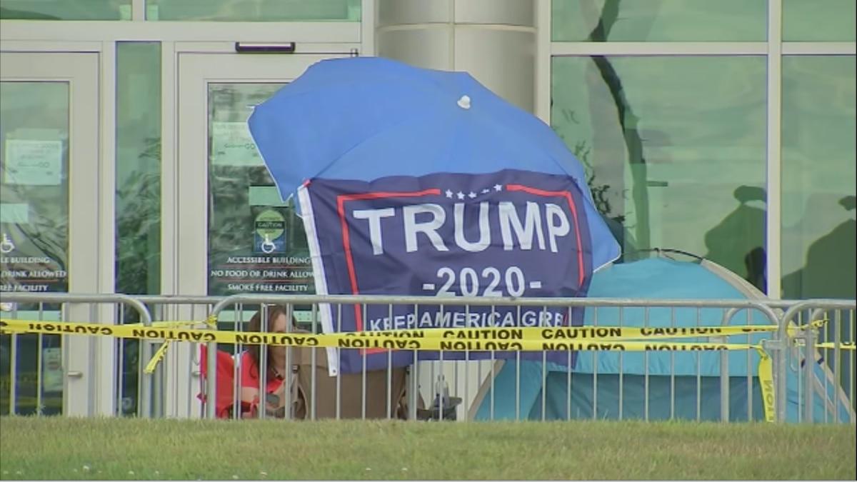 President Trump New Hampshire visit: Road closures