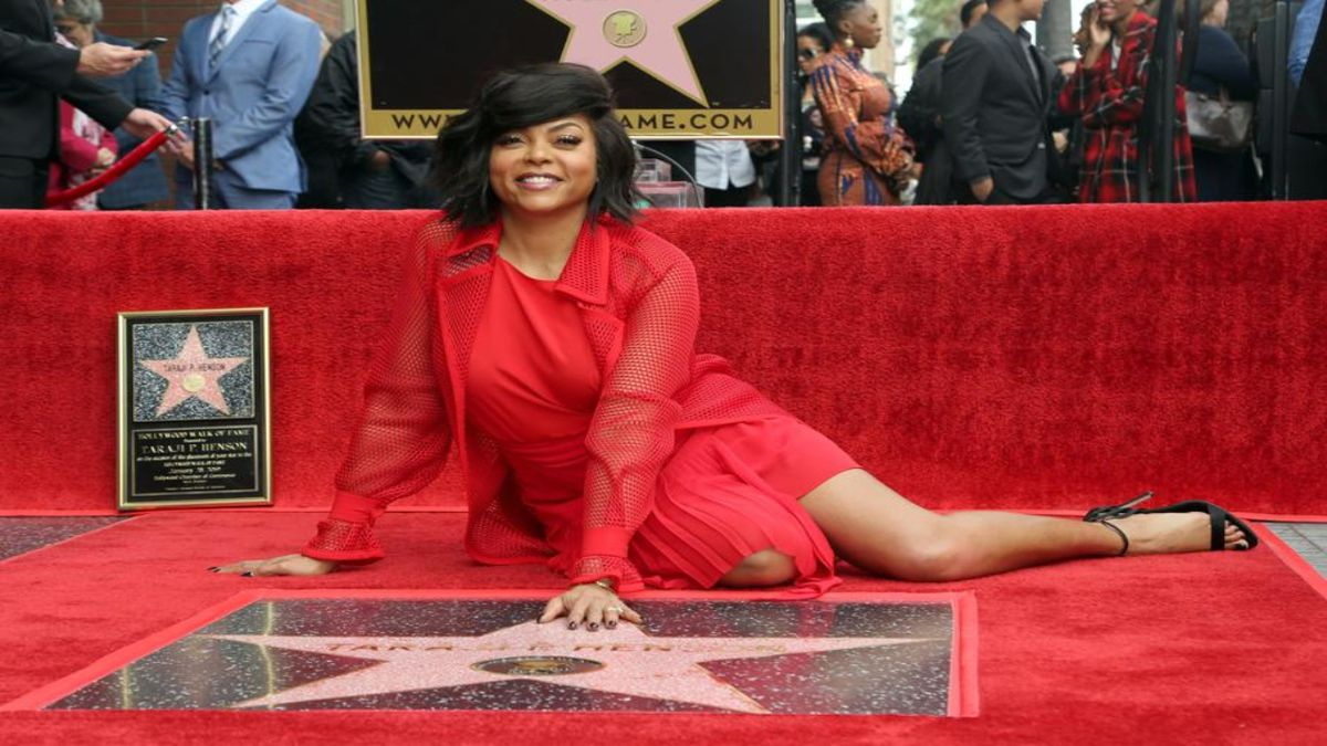 Taraji P. Henson honored with star on Hollywood Walk of Fame