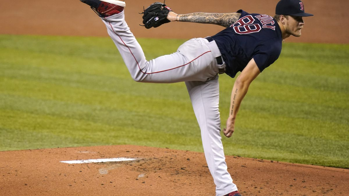 Houck wins MLB debut, goes 5 innings, Red Sox blank Marlins
