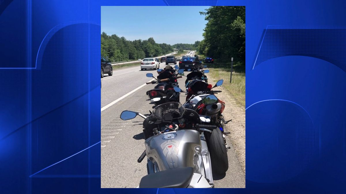 7 Mass. motorcyclists arrested for driving 60 mph over speed limit
