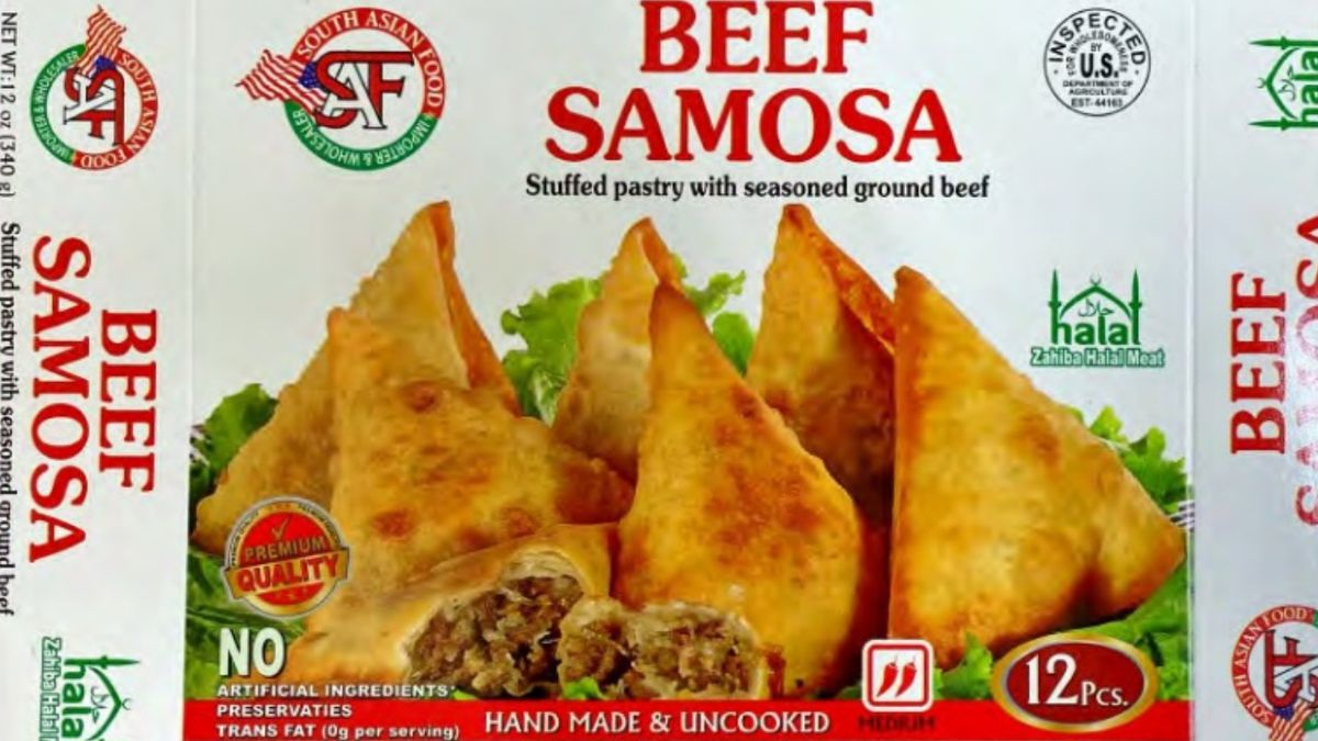 Recall alert: FSIS issues public health alert for samosa chicken, beef products