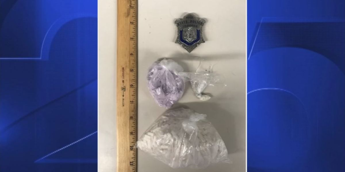 Police: Man who led officers on chase had fentanyl, Xanax, cocaine