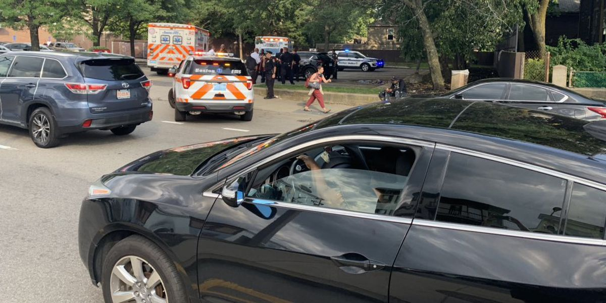 Double shooting in Dorchester sends pair to local hospital
