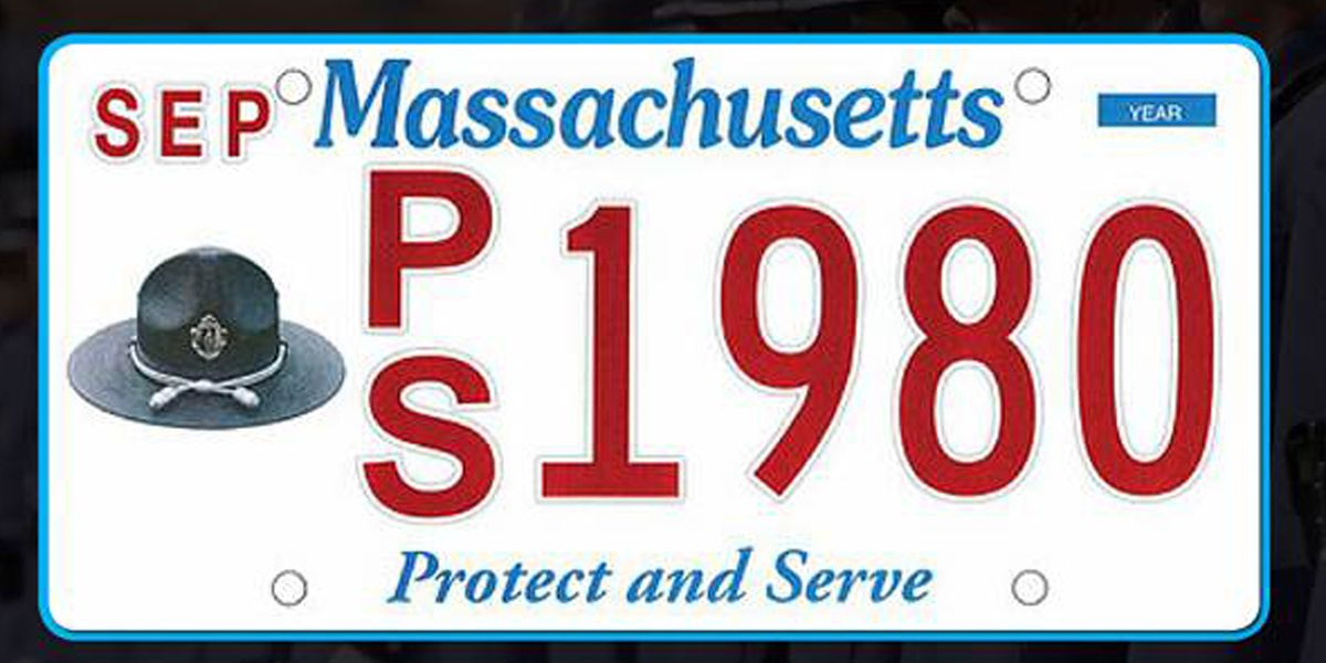 New specialty license plate supports Massachusetts first responders