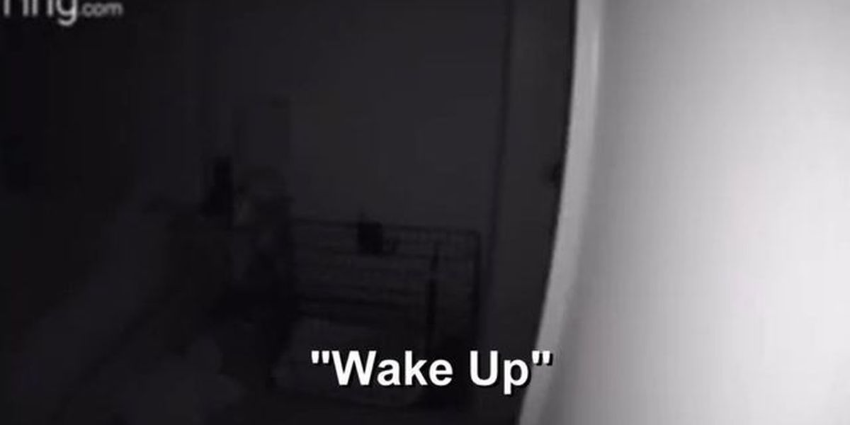 'I can see you in bed. Wake up!' Woman says stranger hacked Ring camera