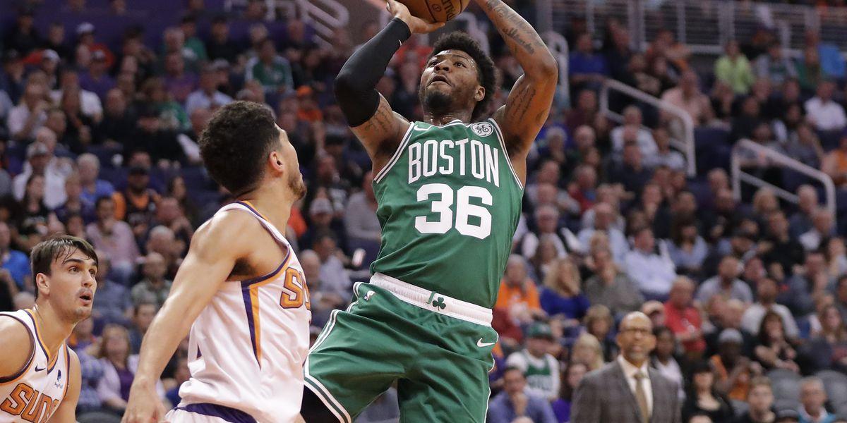 Tatum scores 26 to lead Celtics over Suns 99-85