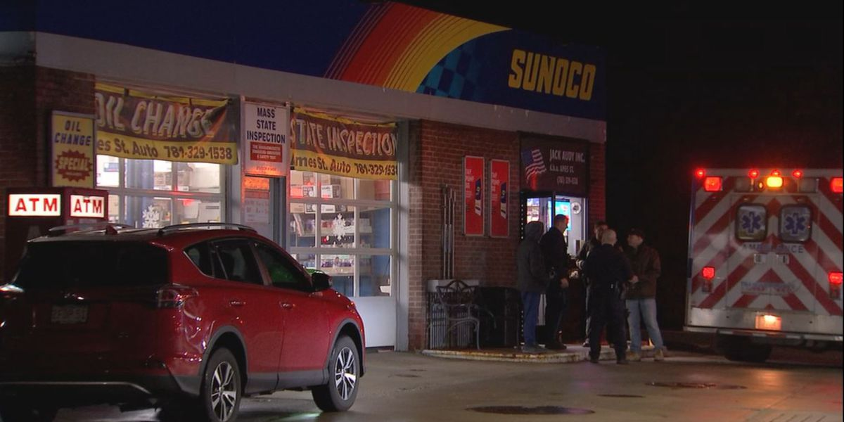 Dedham gas station clerk shot during attempted robbery