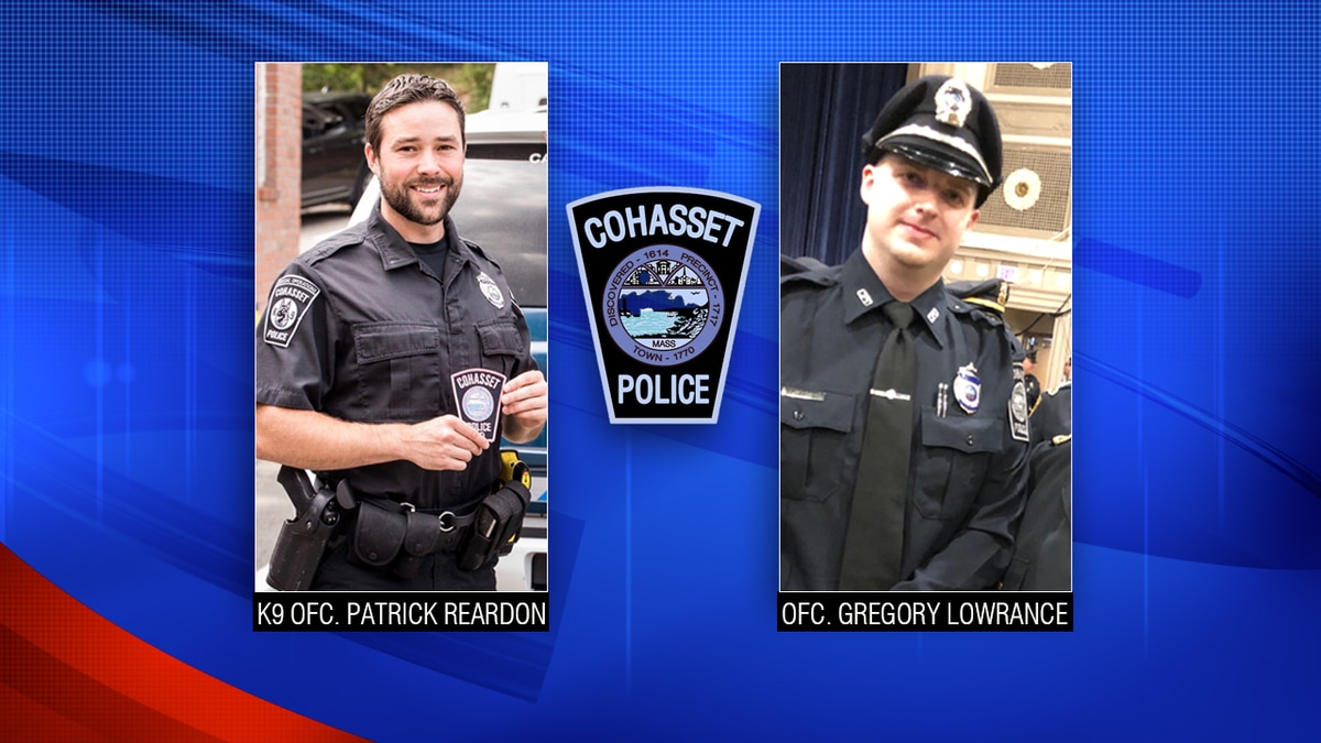 2 Cohasset police officers help save life of suicidal man