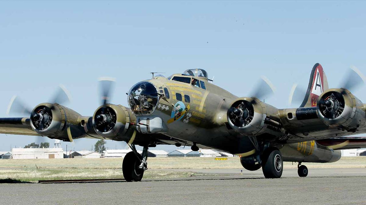 No passenger flights will be offered during B-17 visit to Cape Cod