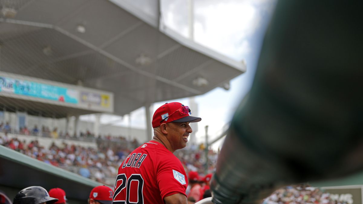 Cora hoping to repeat in sophomore season in Red Sox dugout