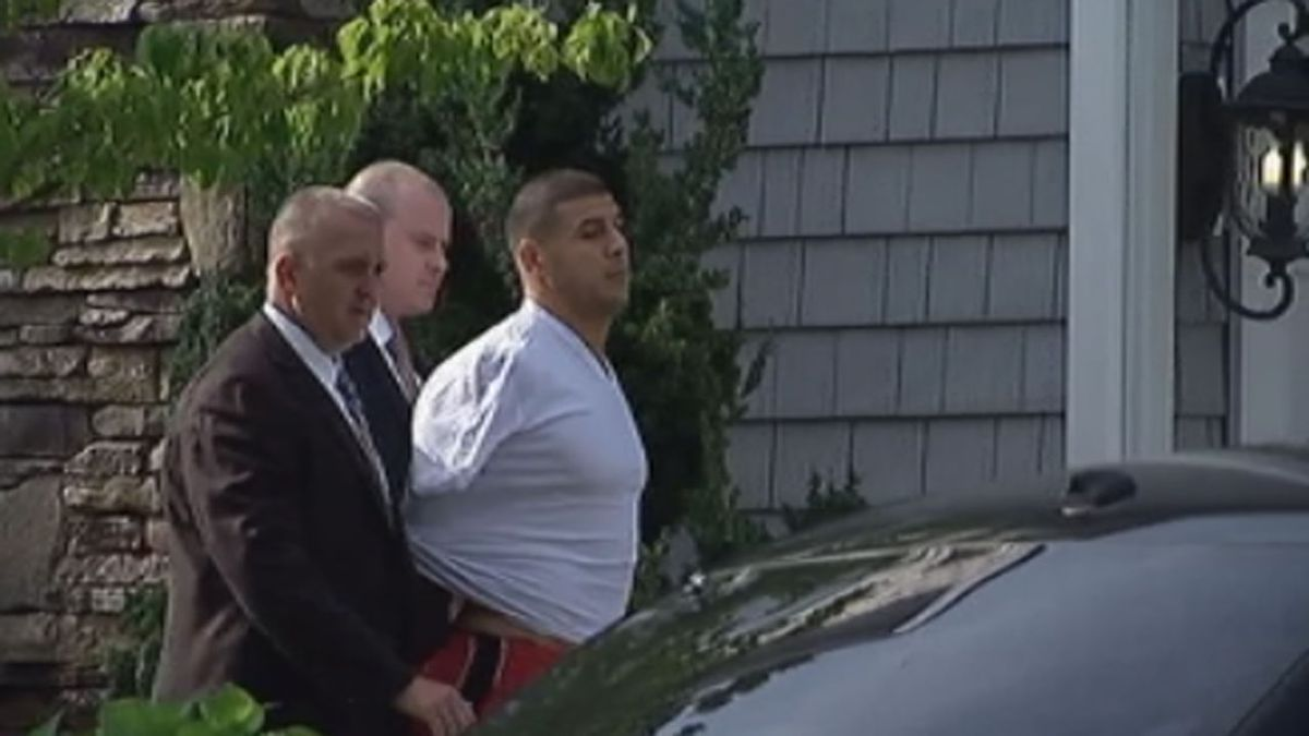 Aaron Hernandez sentenced to life in prison without the possibility of parole