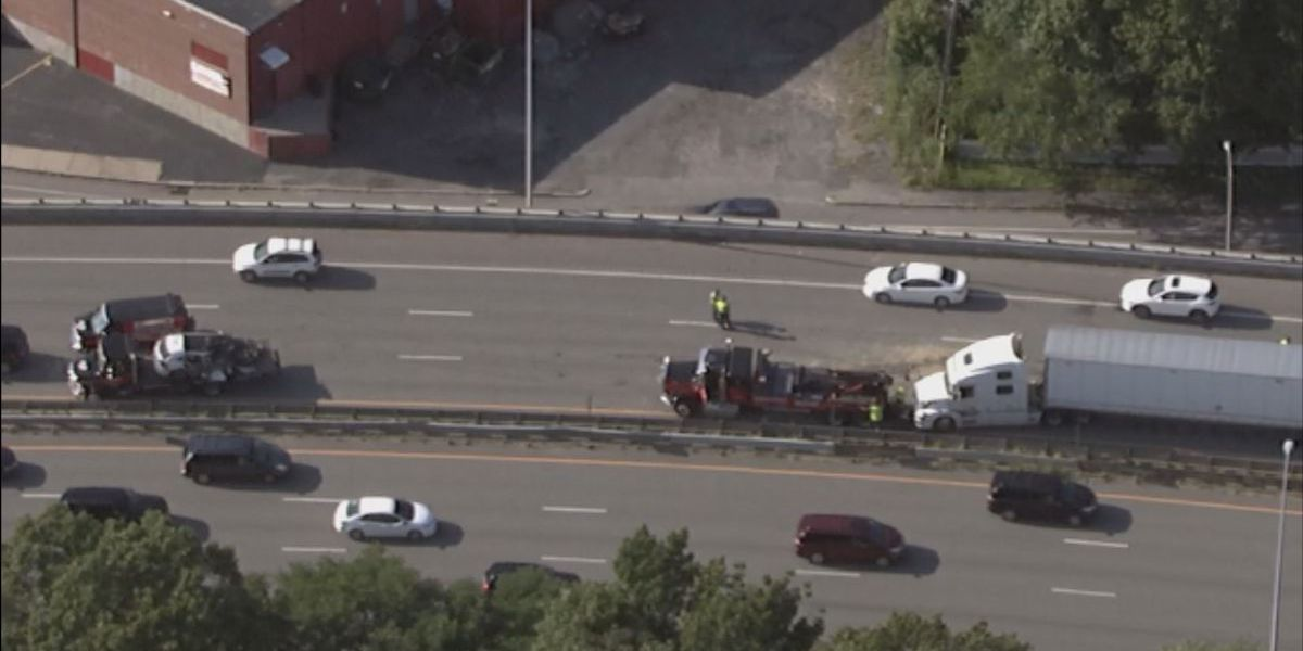 One injured in multi-vehicle crash on I-290 in Worcester
