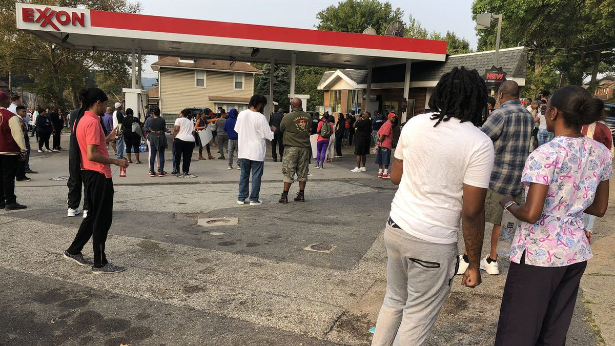 Fight at gas station goes viral, leads to protest