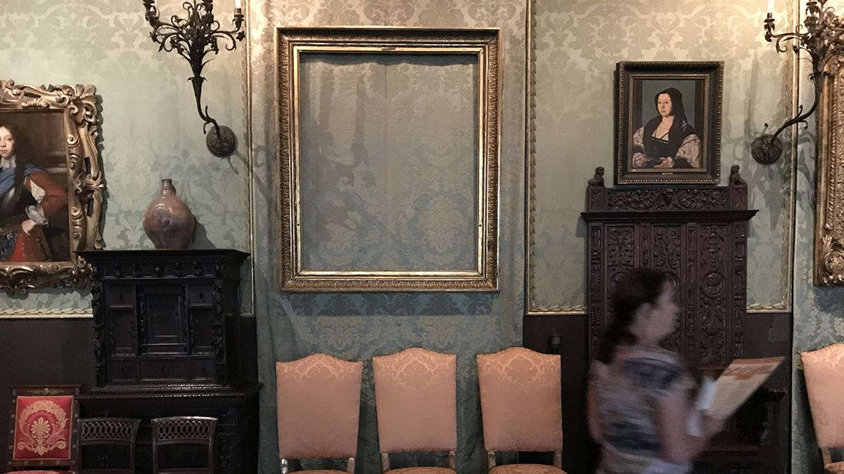New England's Unsolved Podcast: The Gardner Museum Heist