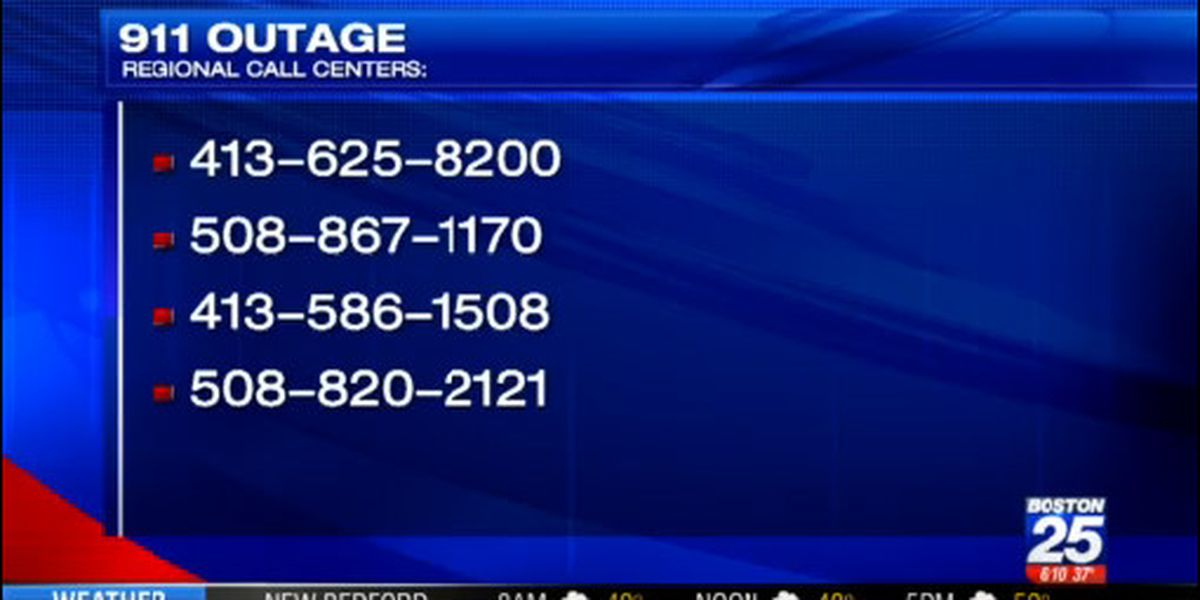 State 911 system operating normally after sporadic outages