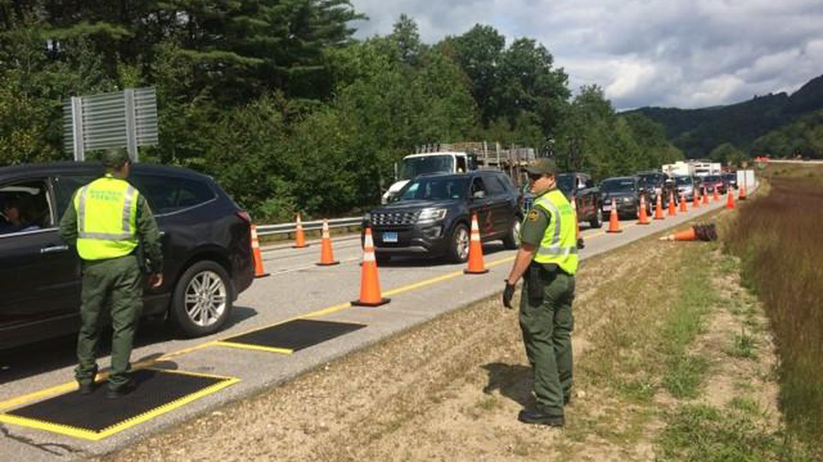 17 arrested during 3-day Border Patrol checkpoint in New Hampshire
