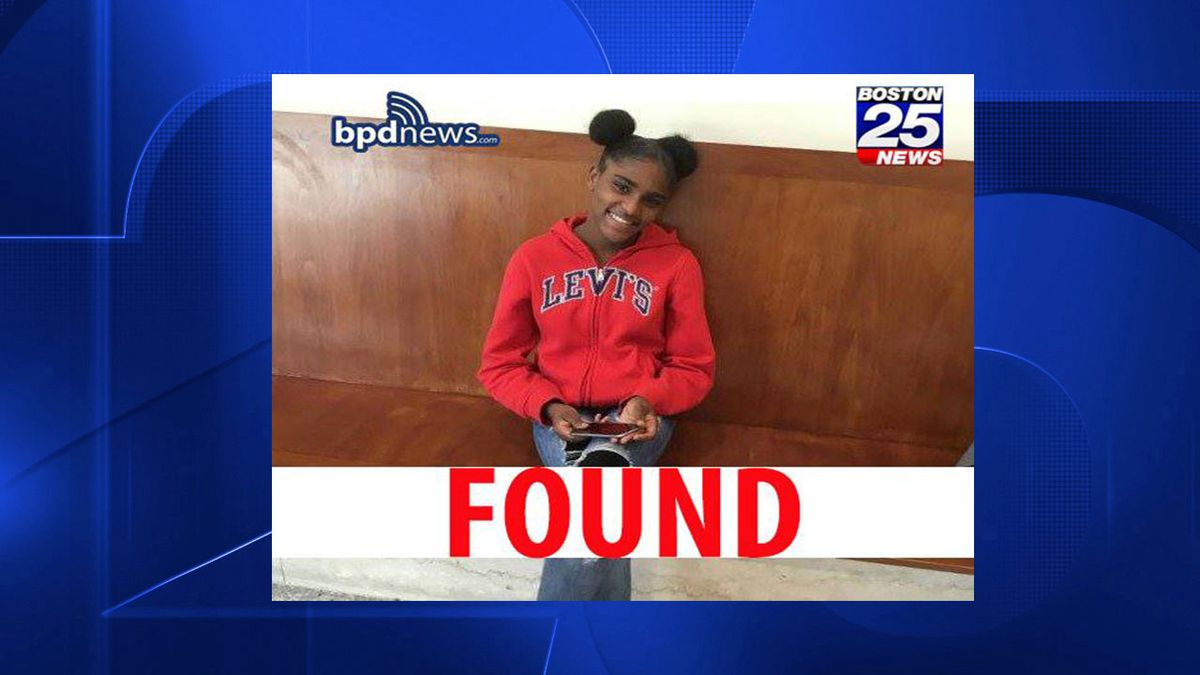 Boston Police say missing 13-year-old girl has been found
