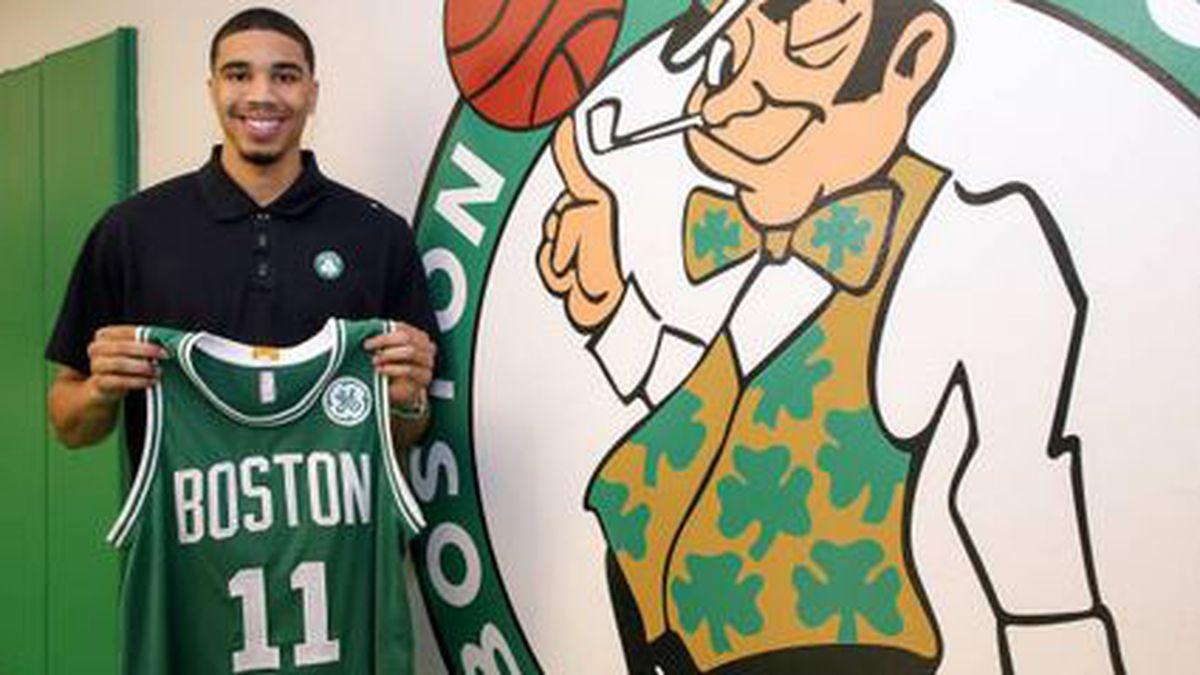 Celtics sign Tatum, Zizic