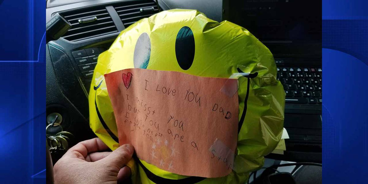 Local sheriff's deputy finds balloon with heartbreaking note attached