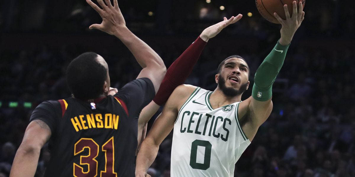 Walker scores 22, Celts beat Cavs 110-88 in Hayward's return