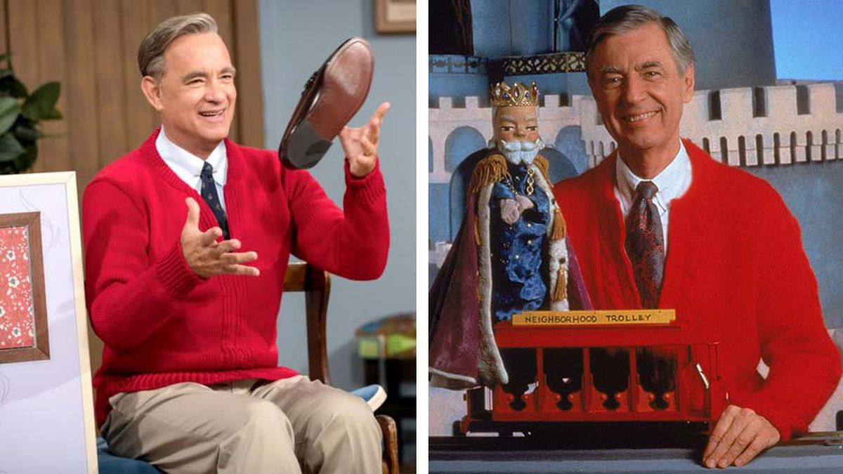 Tom Hanks dead ringer for Fred Rogers in new film