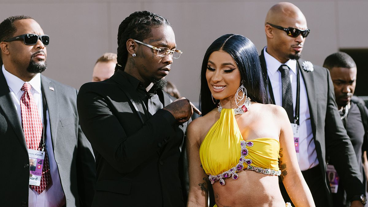 Cardi B gifts Offset with fridge filled with cold, hard cash for birthday