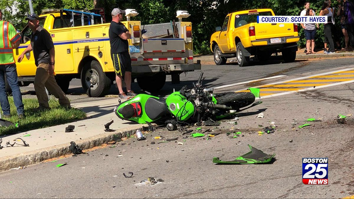 Motorcycle driver killed in Framingham crash