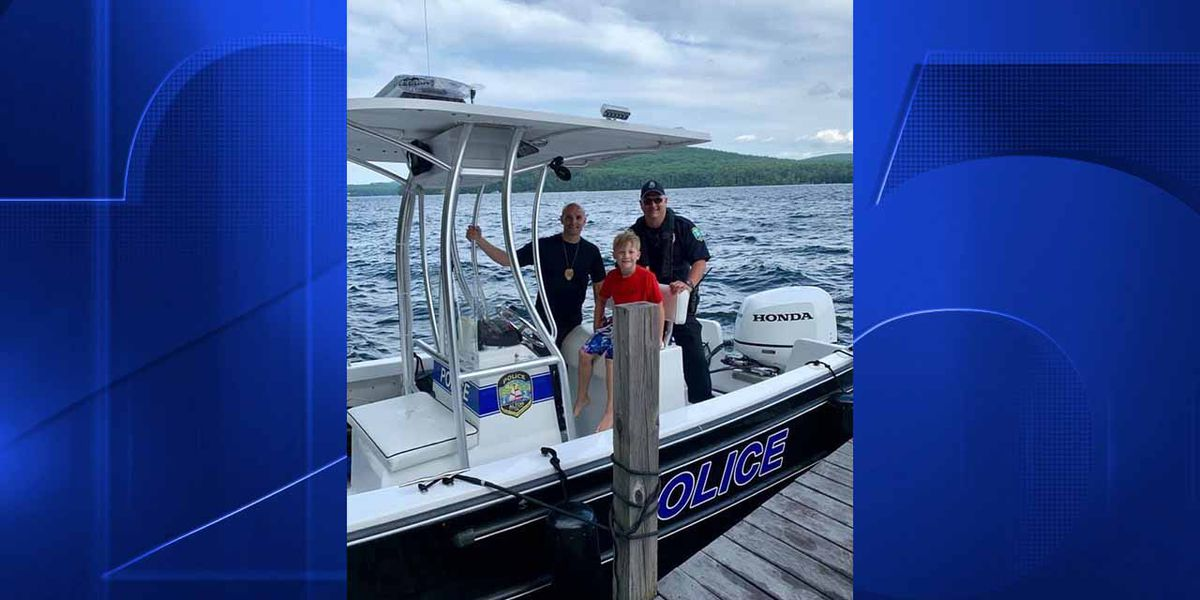 8-year-old boy vacationing in New Hampshire finds gun at bottom of lake