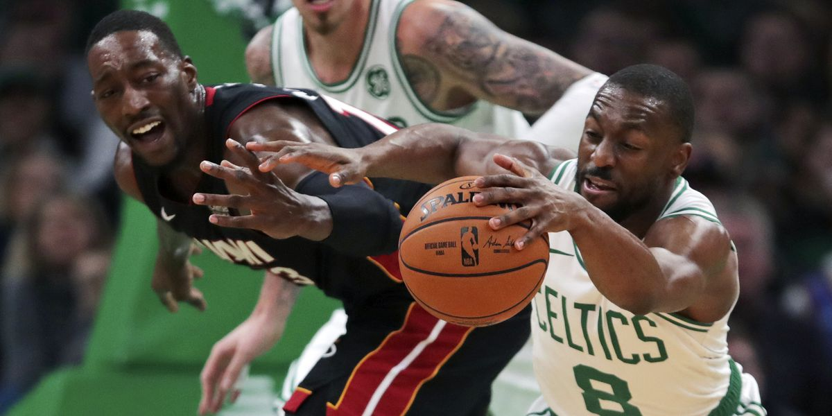 Brown scores 31 points in Celtics' 112-93 victory over Heat