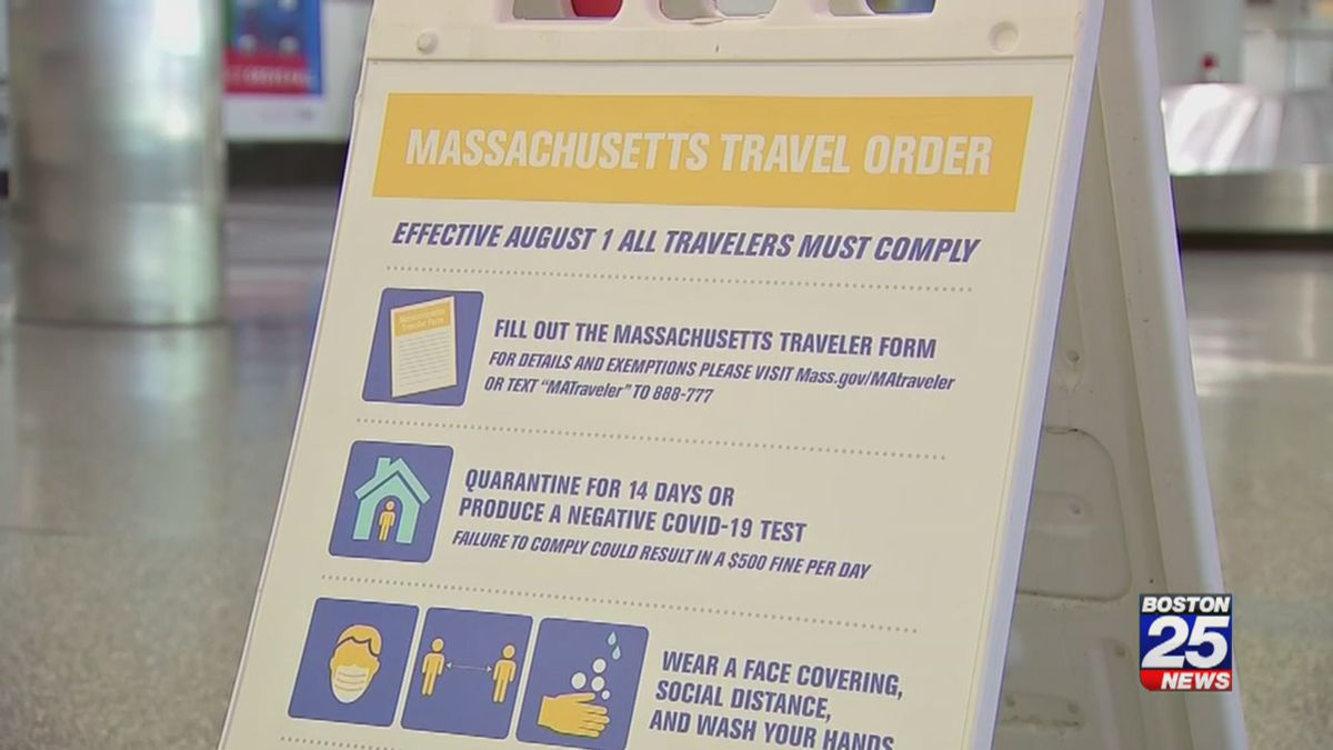 MA travel order: State releases new guidance surrounding college move-in, visitation
