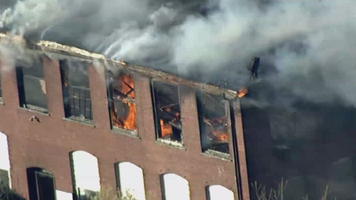 Norton fire officials asking for public's help in finding cause of vacant brick mill building fire