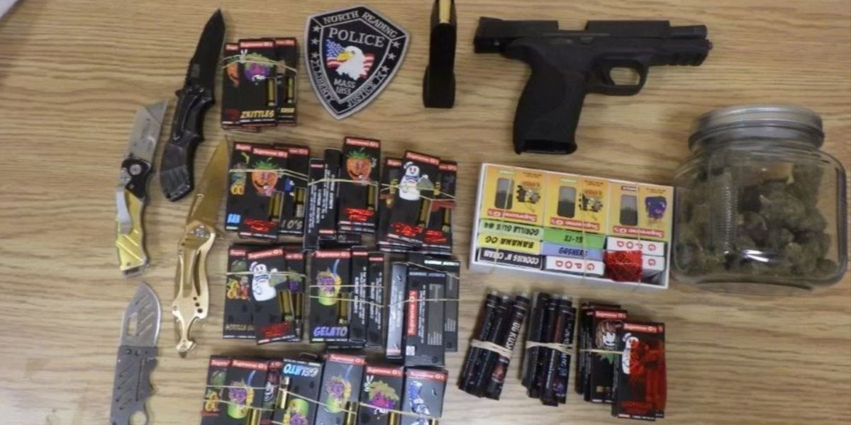 Police arrest allegedly armed 17-year-old, seize $4,000 in THC cartridges