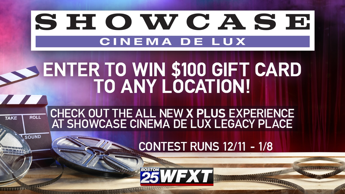 Enter to win a $100 Showcase Cinemas gift card