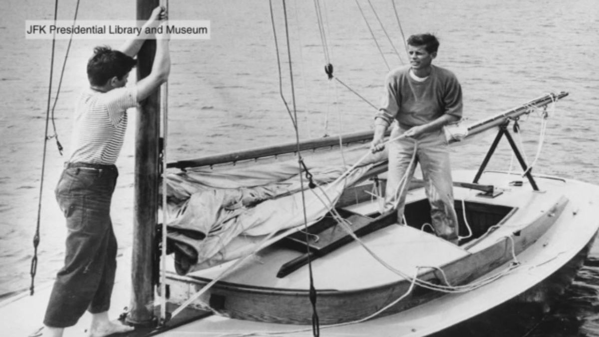 JFK's treasured sailboat getting much-needed facelift