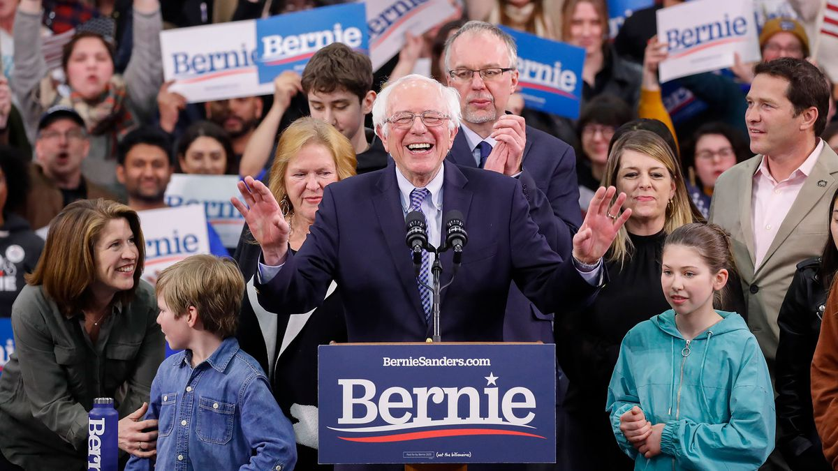 Sen. Bernie Sanders wins first-in-the-nation primary in New Hampshire